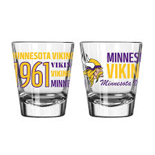 Minnesota Vikings Collector Shot Glass 1