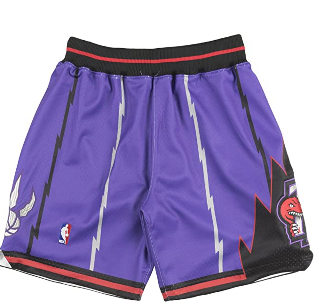 Mitchell and Ness 98-99 Toronto Raptors Men's Shorts