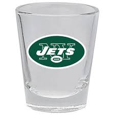 New York Jets Collector Shot Glass