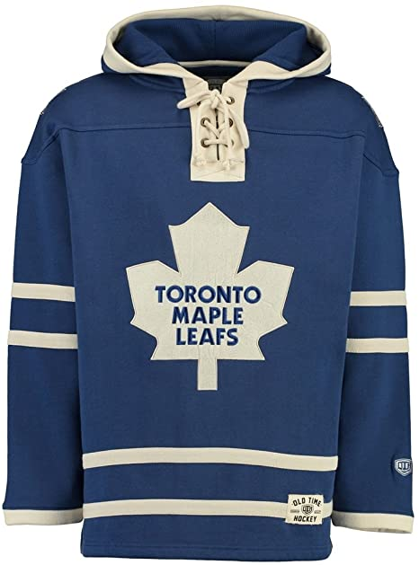 OLD TIME HOCKEY TORONTO MAPLE LEAFS SR LACER NHL HOCKEY HOODIE