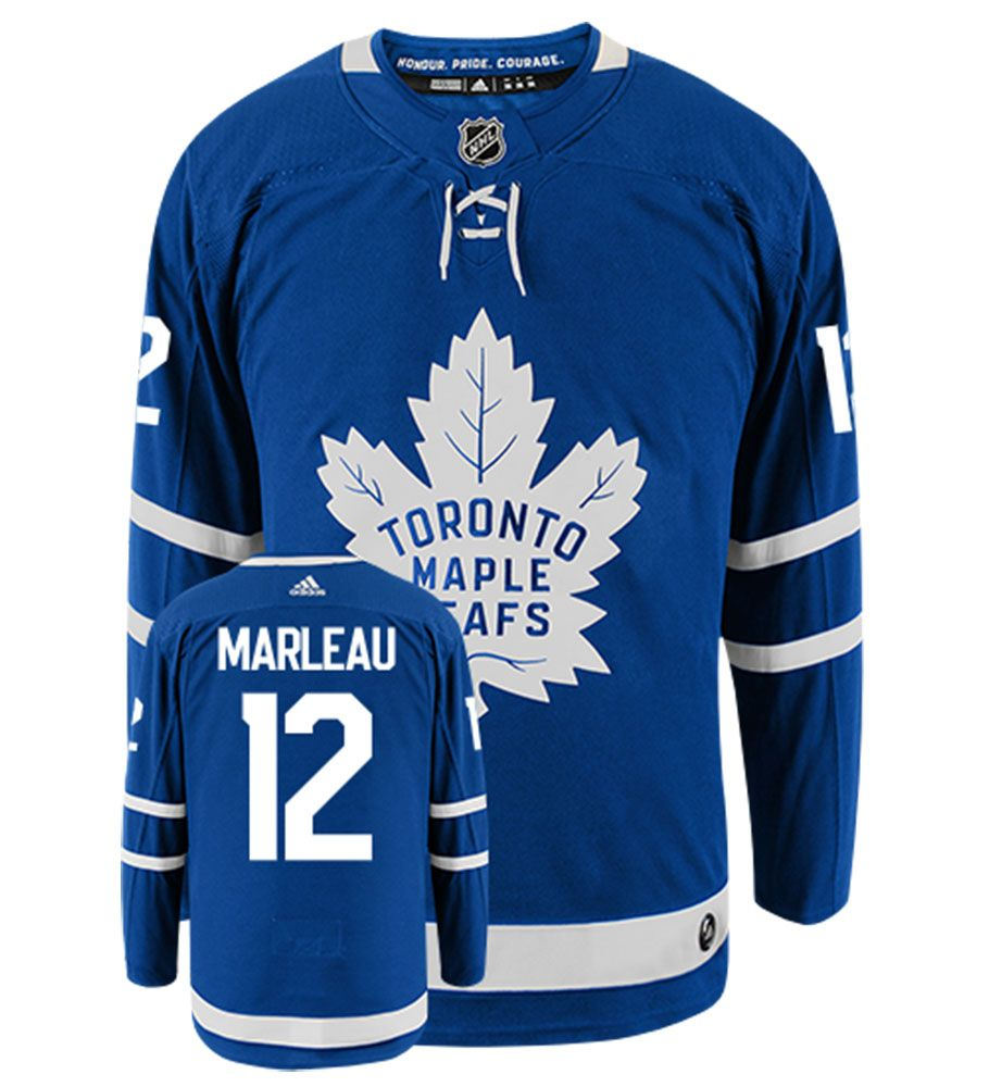 PATRICK MARLEAU TORONTO MAPLE LEAFS ADIDAS AUTHENTIC HOME NHL HOCKEY JERSEY