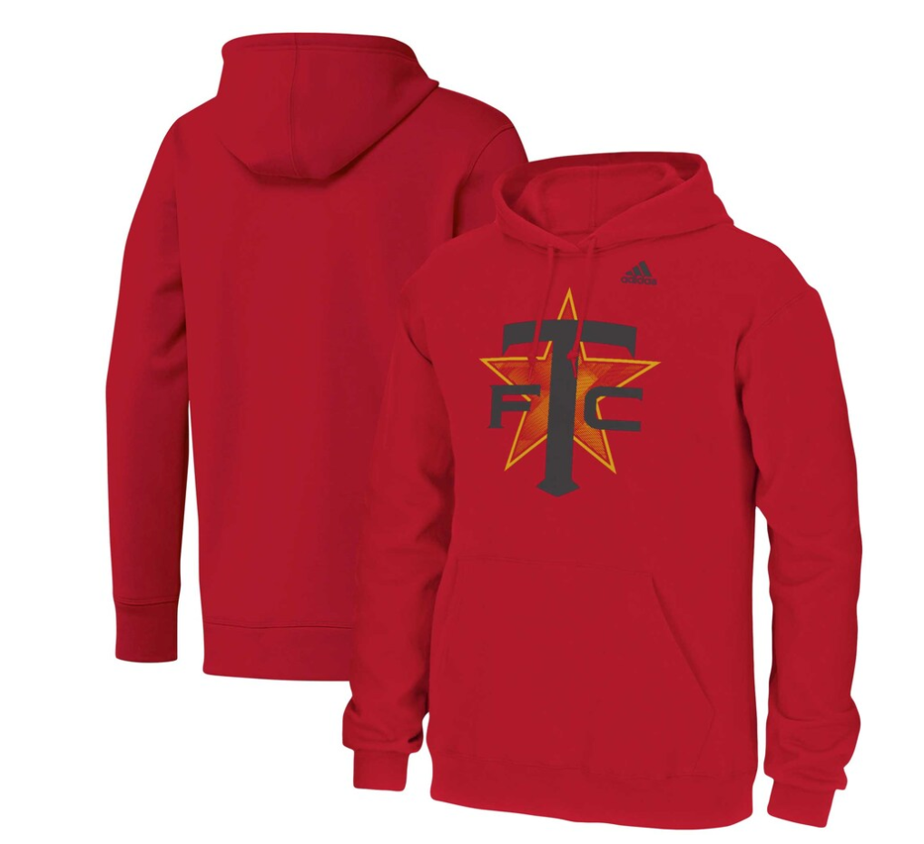 Men's adidas Red Toronto FC Team Issue Star Bright Hoodie