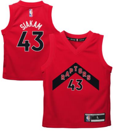 Toronto Raptors Youth Red Siakam Jersey