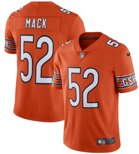 Load image into Gallery viewer, Khalil Mack Nike Orange Chicago Bears Vapor Untouchable -Game Jersey