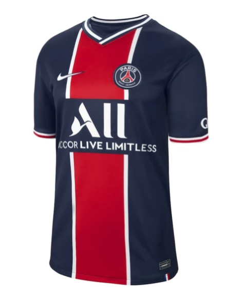 Paris Saint-Germain 2020/21 Home Jersey