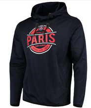 Load image into Gallery viewer, Paris Saint-Germain Levelwear Lacer Advantage Pullover Hoodie - Heathered Navy