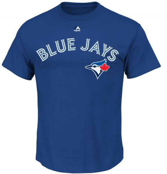 Toronto Blue Jays Sanchez MLB Player Name & Number T-Shirt - Majestic