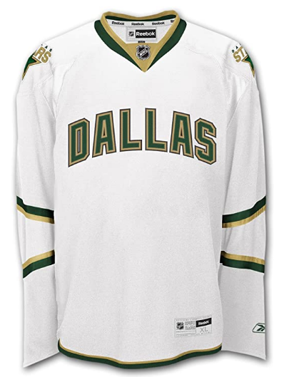 Men's Reebok NHL Premier Jersey - Dallas Stars - Away