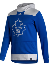 Load image into Gallery viewer, TORONTO MAPLE LEAFS ADIDAS MEN'S REVERSE RETRO UNDER THE LIGHTS PULLOVER HOODIE