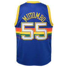 Load image into Gallery viewer, Mitchell & Ness Dikembe Mutombo Denver Nuggets Road 1991-92 NBA Swingman Jersey