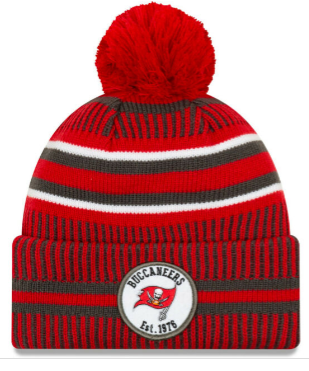 Tampa Bay Buccaneers New Era Home Sideline Knit/Toque