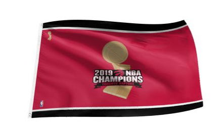 The Sports Vault 3 X 5 Flag NBA CHAMP 2019 Toronto Raptors