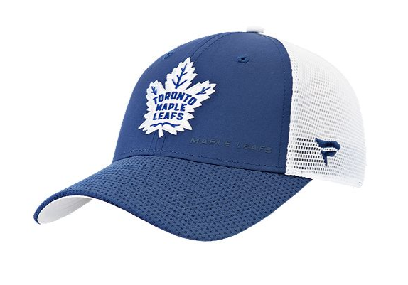 Toronto Maple Leafs Fanatics Authentic Pro Rinkside Structured Adjustable Mesh Cap