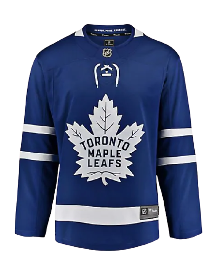 Toronto Maple Leafs Fanatics Branded Home Breakaway Jersey - Blue