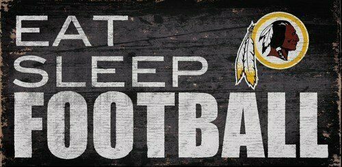 NFL 'Eat, Sleep, Football' Sign
