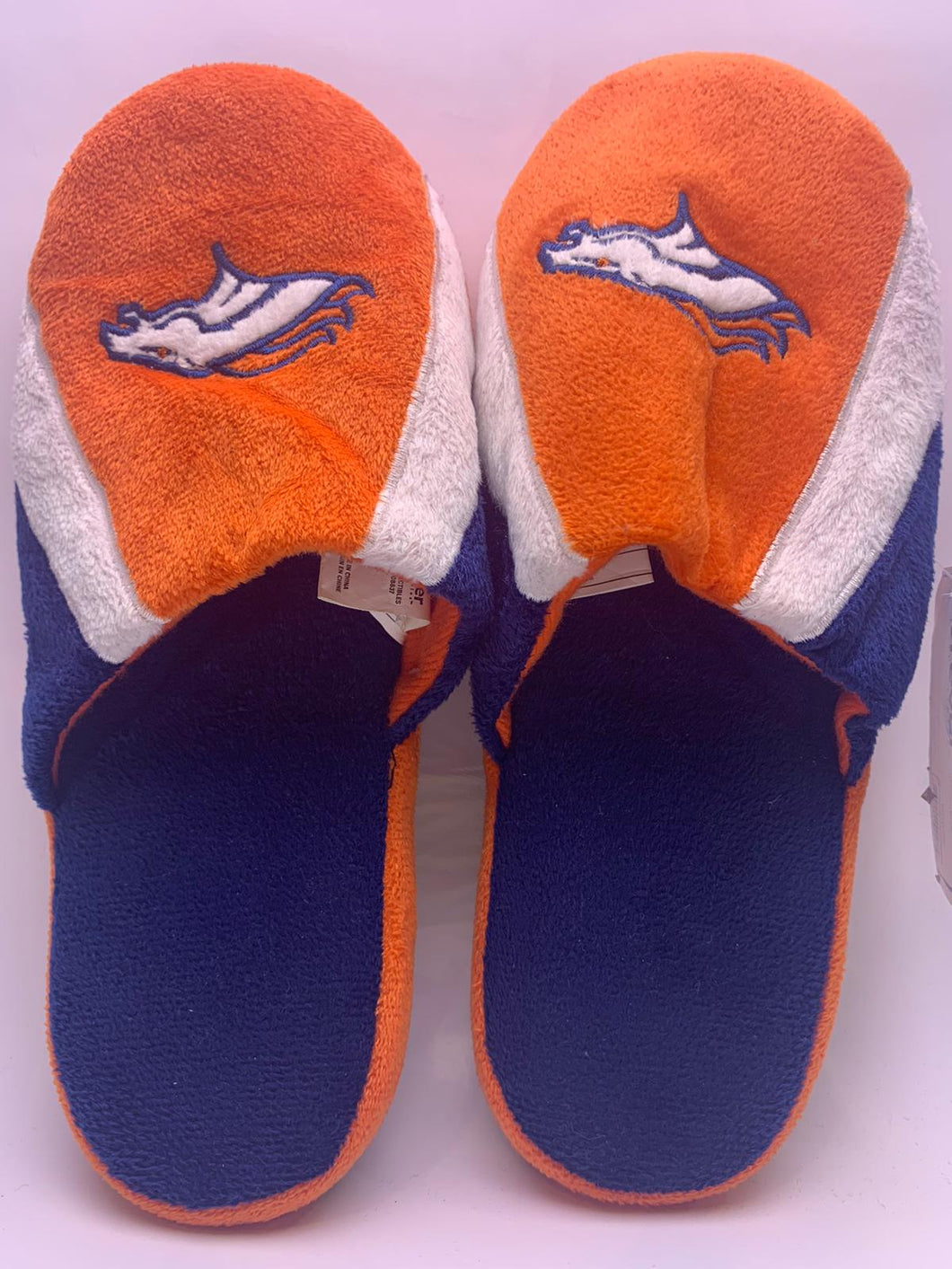 Denver Broncos Slippers 2