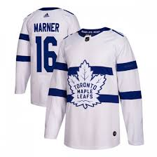 MEN'S AUTHENTIC TORONTO MAPLE LEAFS MITCHELL MARNER ADIDAS 2018 STADIUM SERIES JERSEY