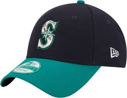 Seattle Mariners New Era 9Forty Cap Navy/Teal Adjustable