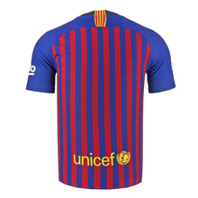Load image into Gallery viewer, Nike Breathe FC Barcelona 18-19 Stadium Home Youth Jersey Jr