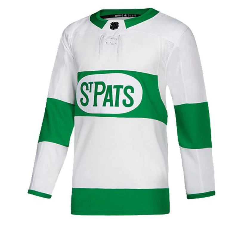 St. Pats adidas Authentic Jersey