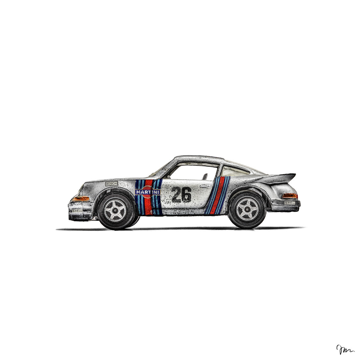 La Porsche Carrera RSR Martini Racing