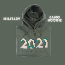 Load image into Gallery viewer, Military Camo Hoodie