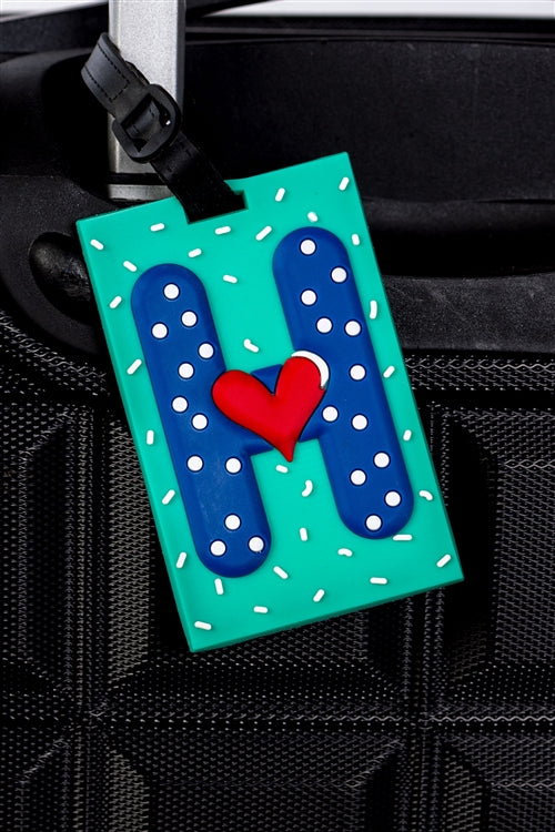 H-town Luggage Tag
