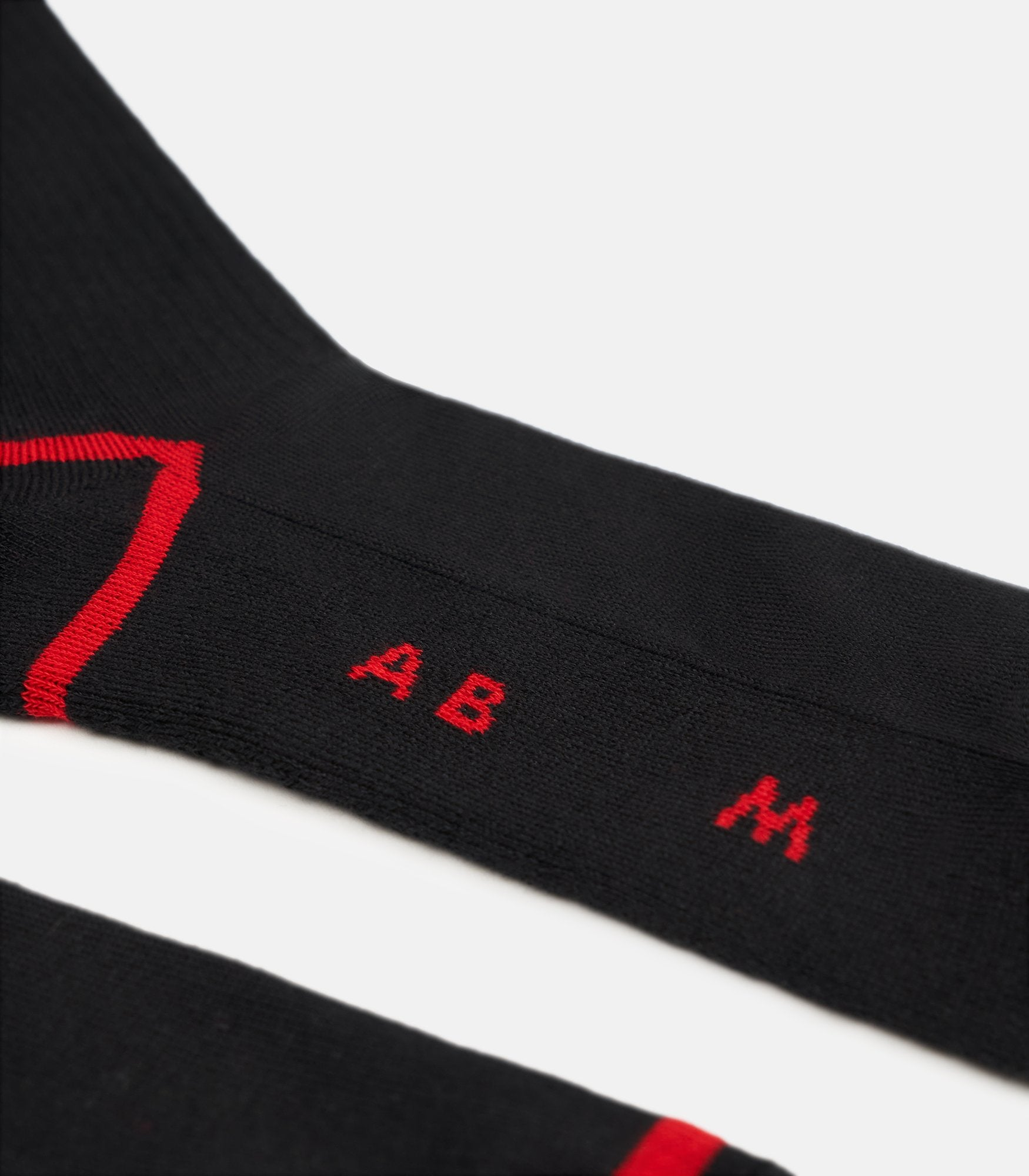 Red Flame Socks