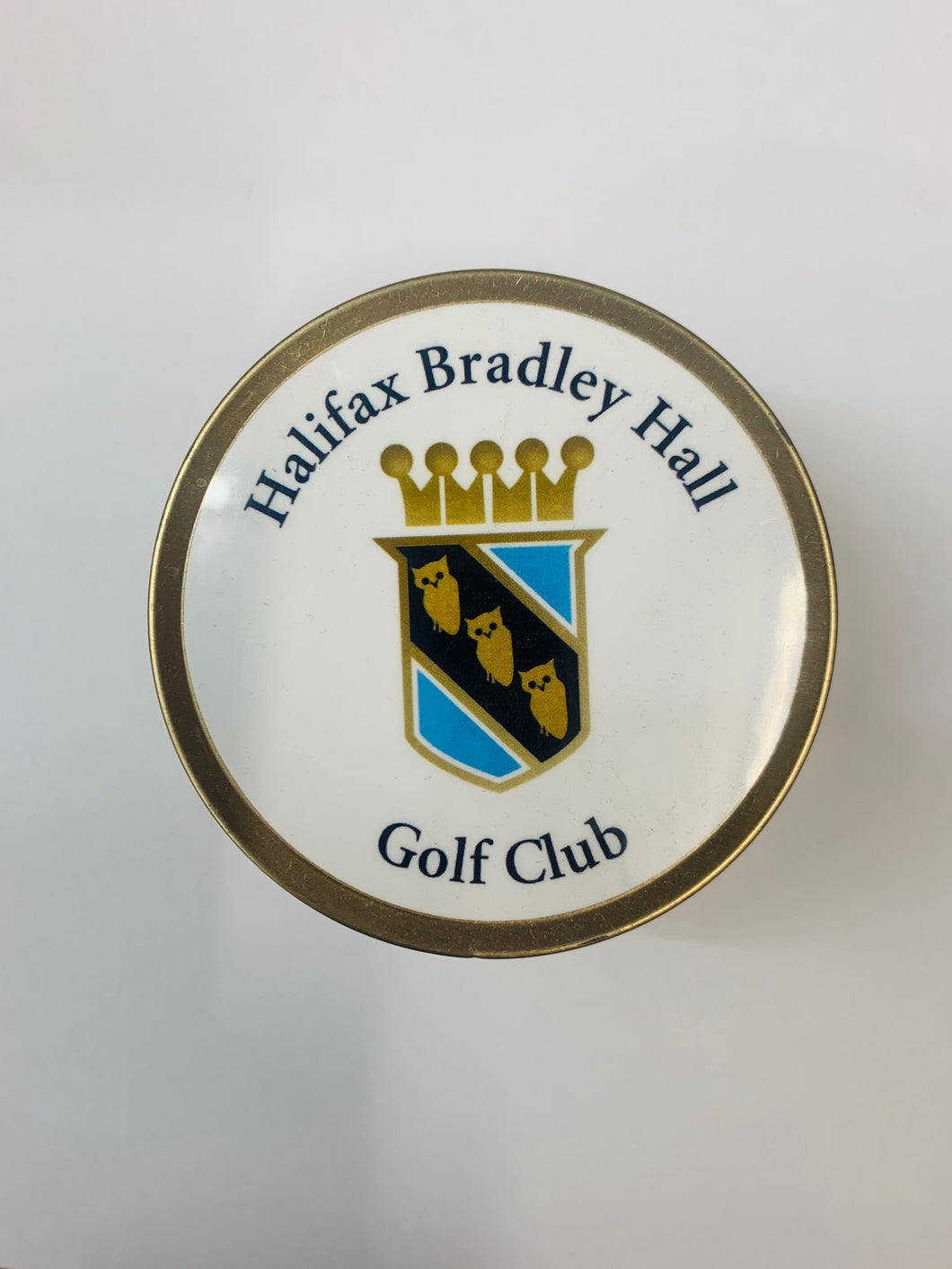 Halifax Bradley Hall Golf Club Tin of Tees