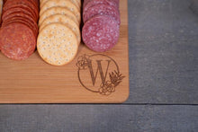 Load image into Gallery viewer, Monogram Charcuterie board | Free Shipping