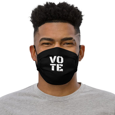 BIG VOTE Mask - Black/White