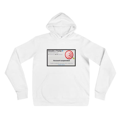 Donald Trump Account Suspended Hoodie