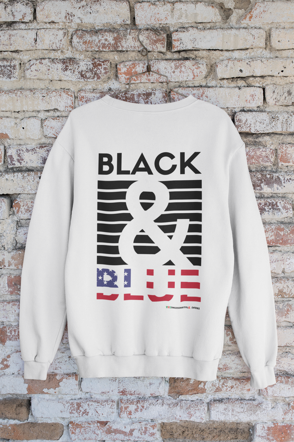 Black & Blue Sweatshirt
