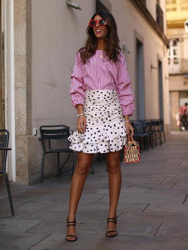 Looks To Drive You Dotty: How To Style With Polka Dots