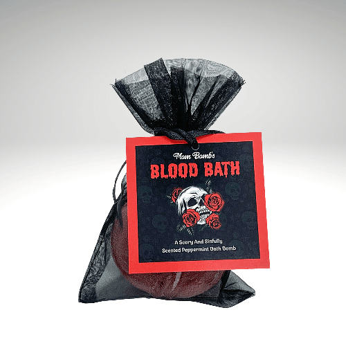 """Blood Bath"" Bath Bomb Single"