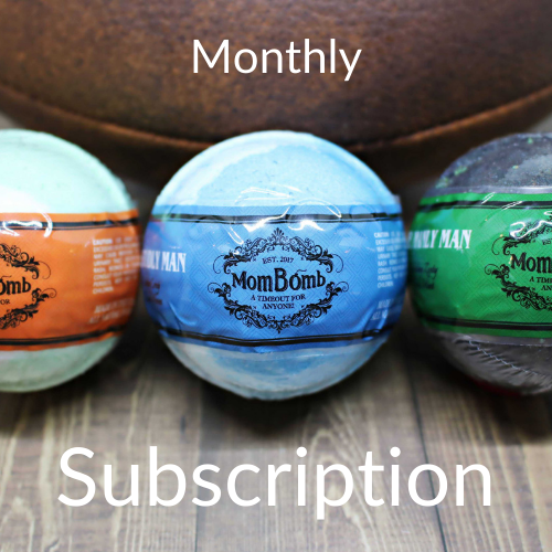 MENS TRIO XL Bath Bombs for Him 1 Subscription 00% of Profits to Charity