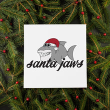Load image into Gallery viewer, Santa Jaws Christmas Card