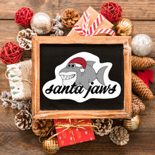 Load image into Gallery viewer, Santa Jaws Sticker