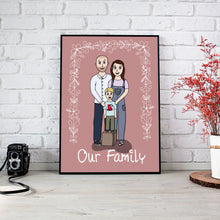 Load image into Gallery viewer, Custom Family Cartoon