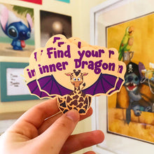 Load image into Gallery viewer, Giraffagon Sticker