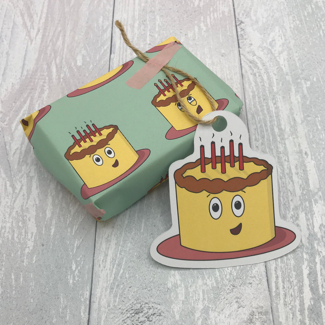 Birthday Cake Wrapping Sheet