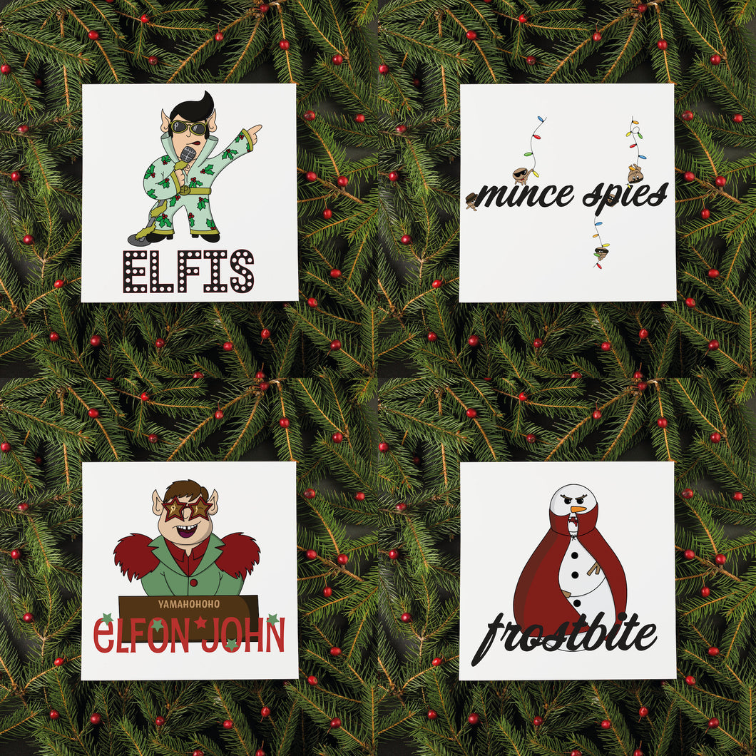 Custom Pack of Christmas Cards