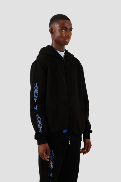 Hoody Zip L'ORIGINE Black