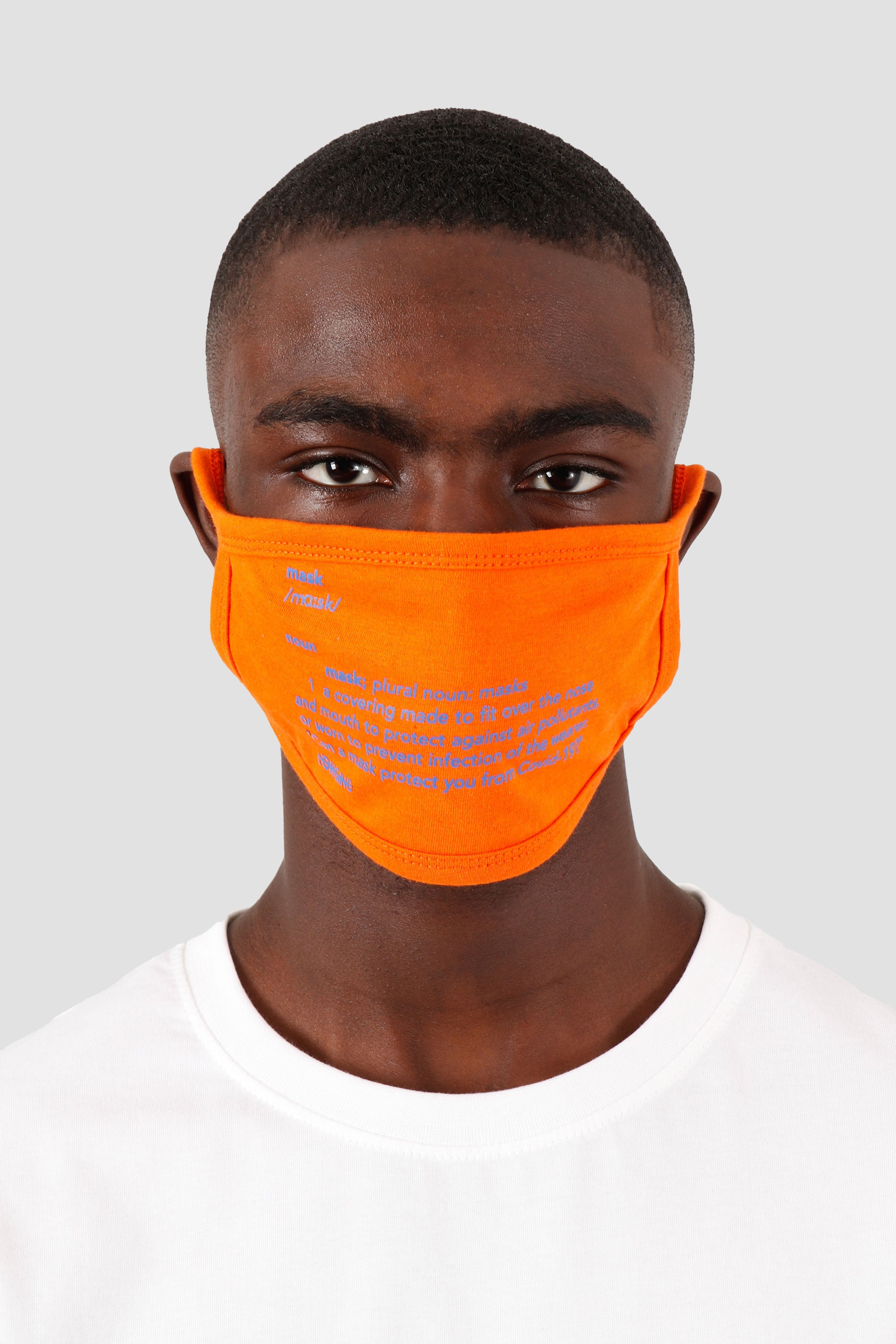 Mask Definition Orange