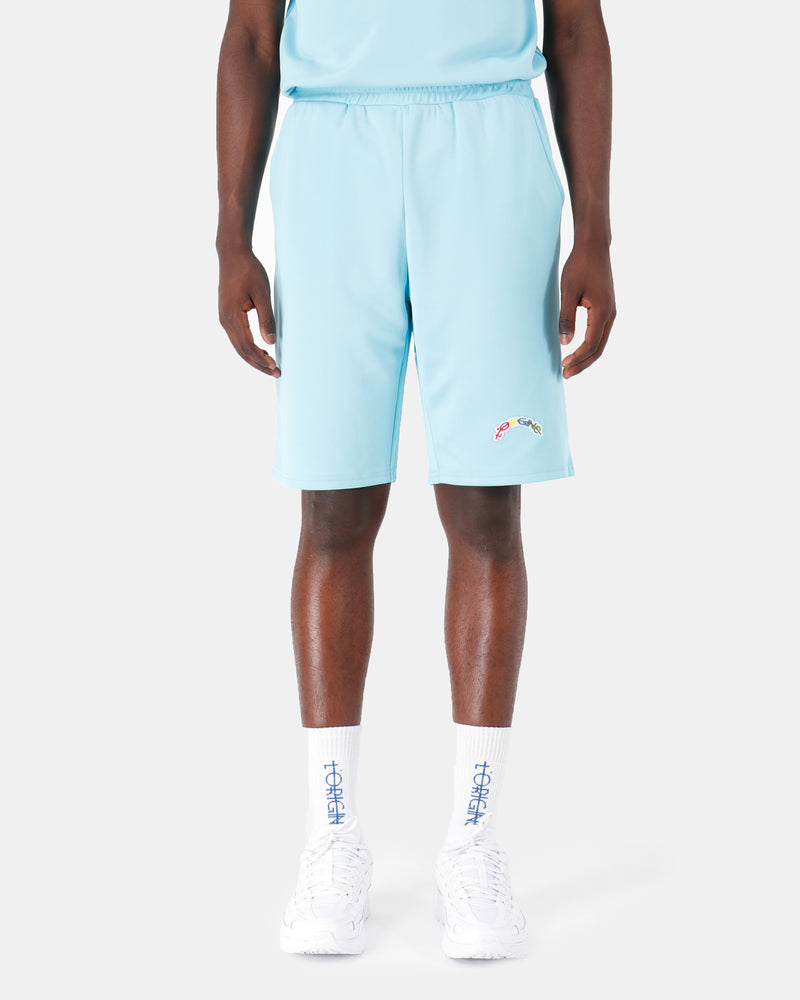 Kevin Shorts L'ORIGINE Rainbow Soft Blue