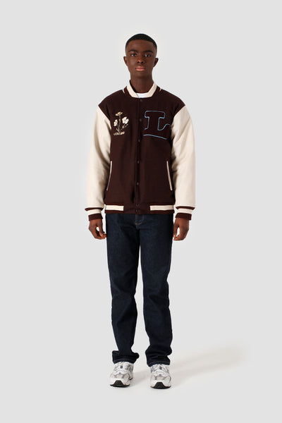 Varsity Jacket RWGF Brown