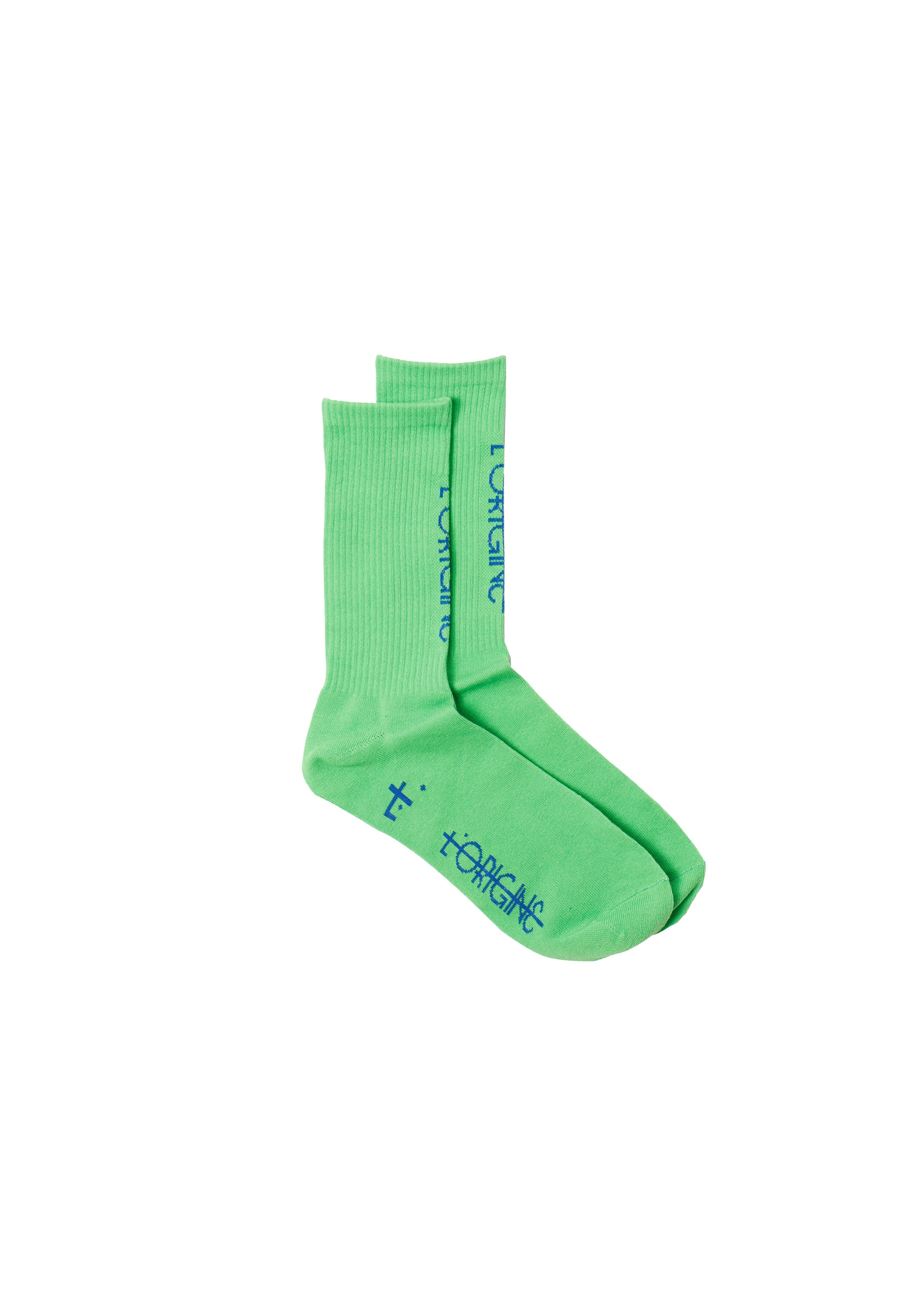 Socks L'origine Vertical Green