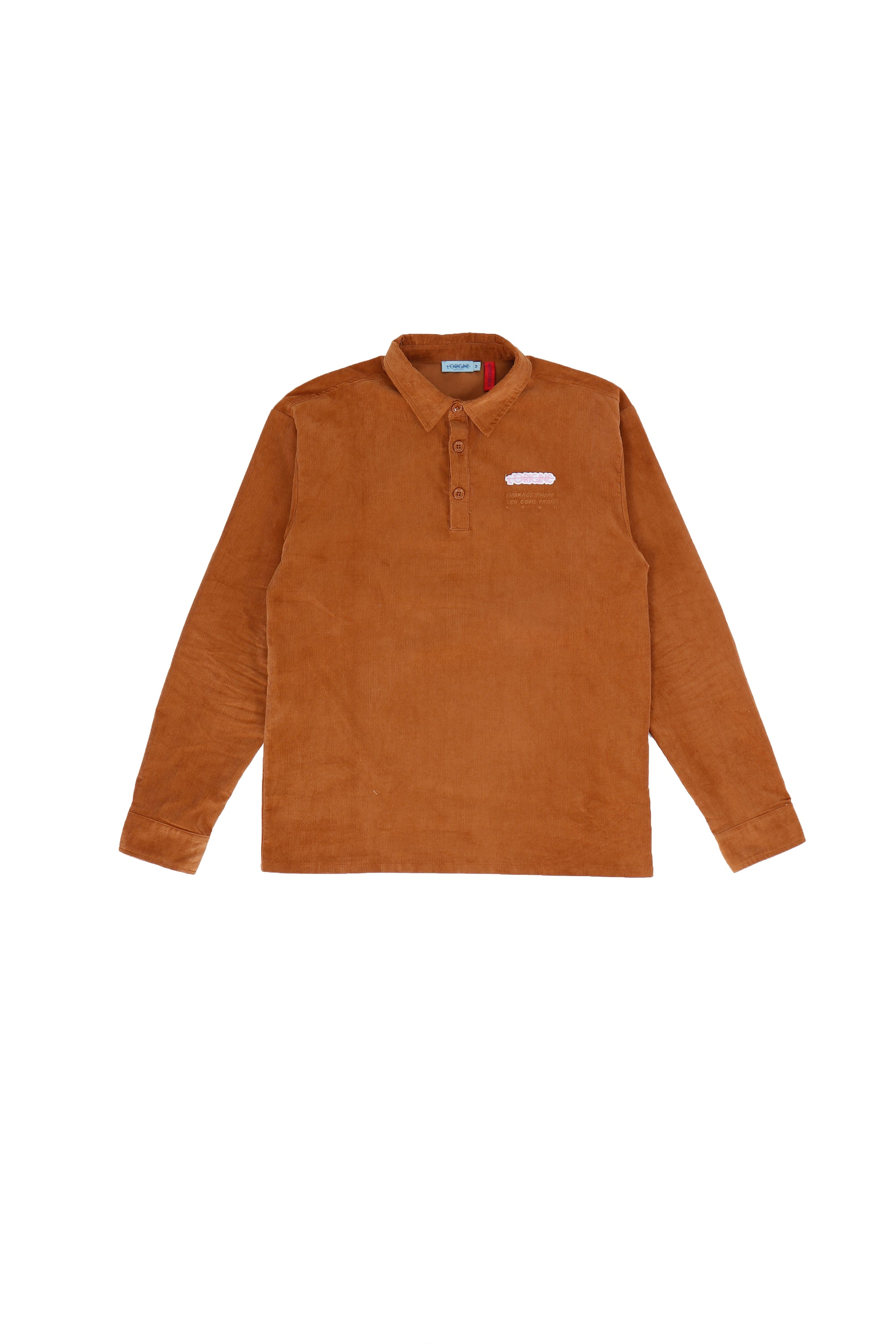 Polo Sleeve RWGF Brown