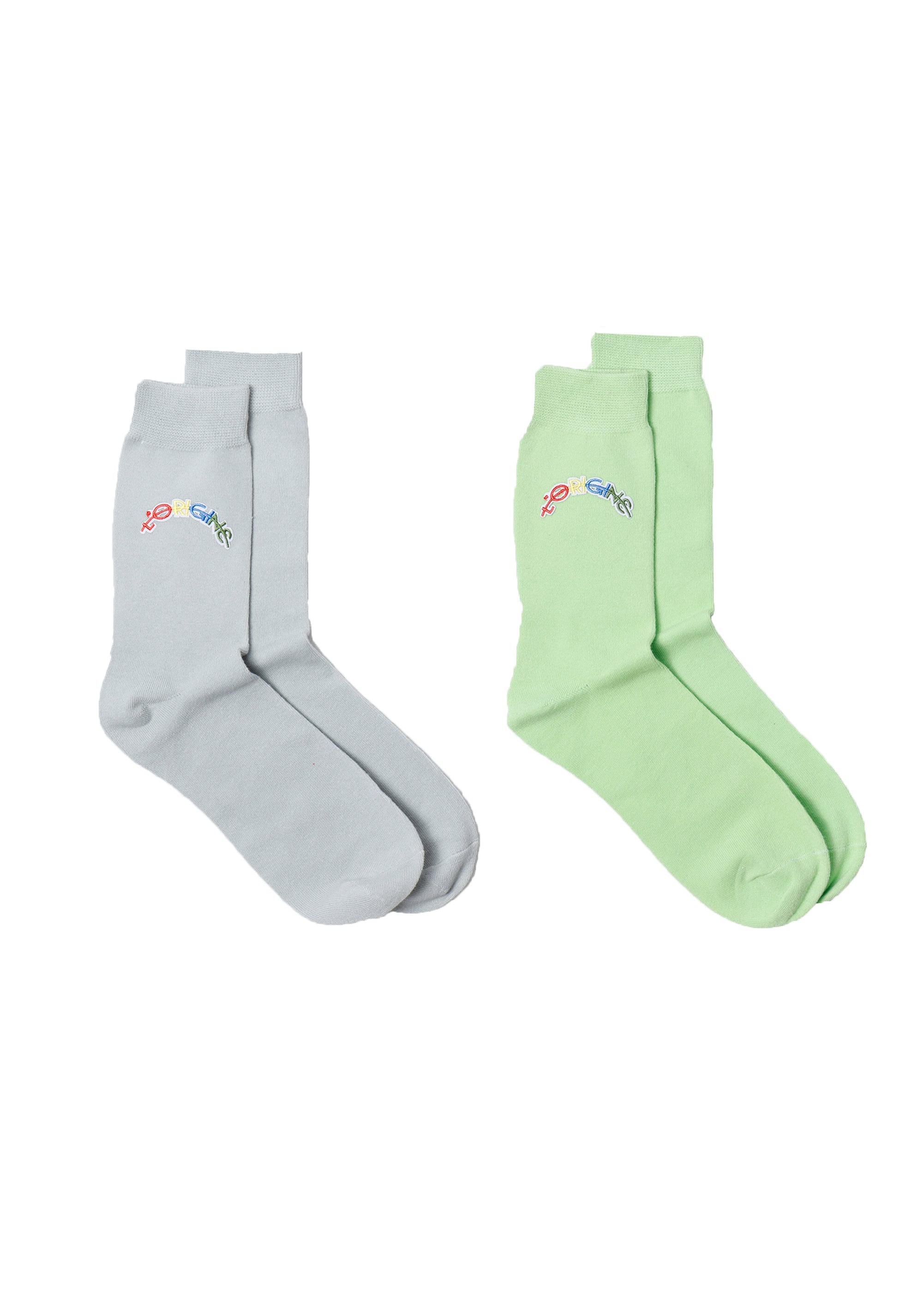 Socks L'origine Rainbow 2 pack