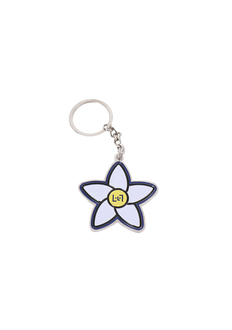 RWGF Face Star Flower Keychain